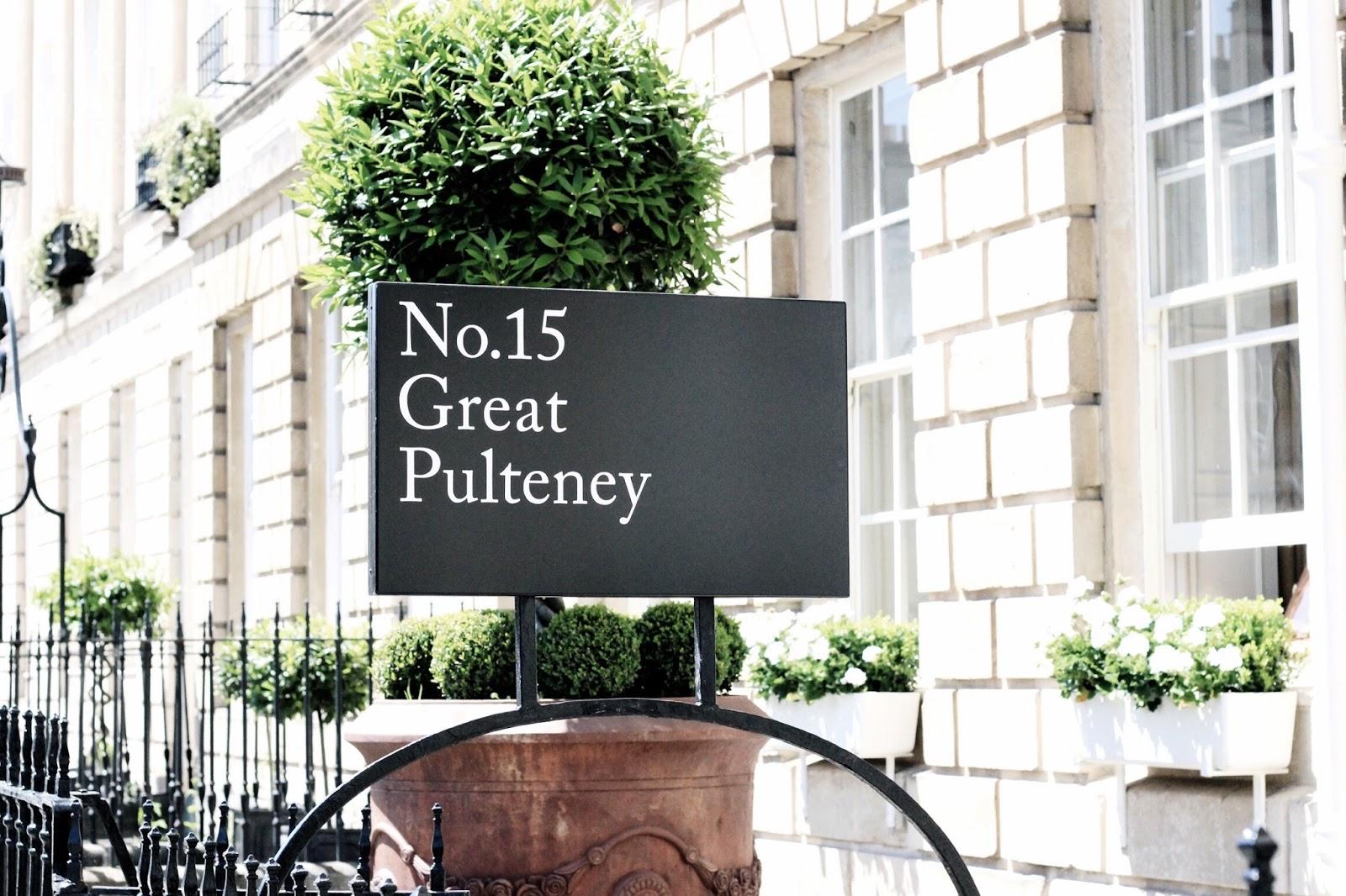 Bath No. 15 Great Pulteney Street Hotel