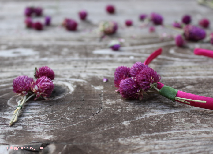 Diadema flores secas DIY