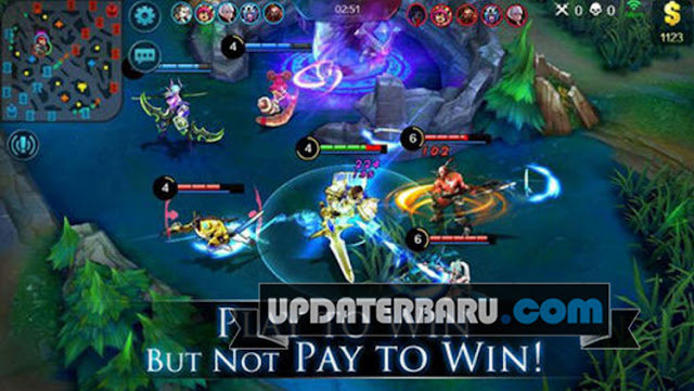 Mobile Legends APK v1.1.18 Terbaru Game MOBA For Android Free Download Cheat