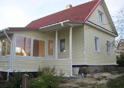 Загородные каркасные дома фото