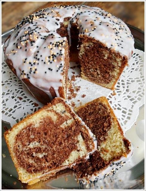 Saftiger Marmorkuchen Glutenfrei