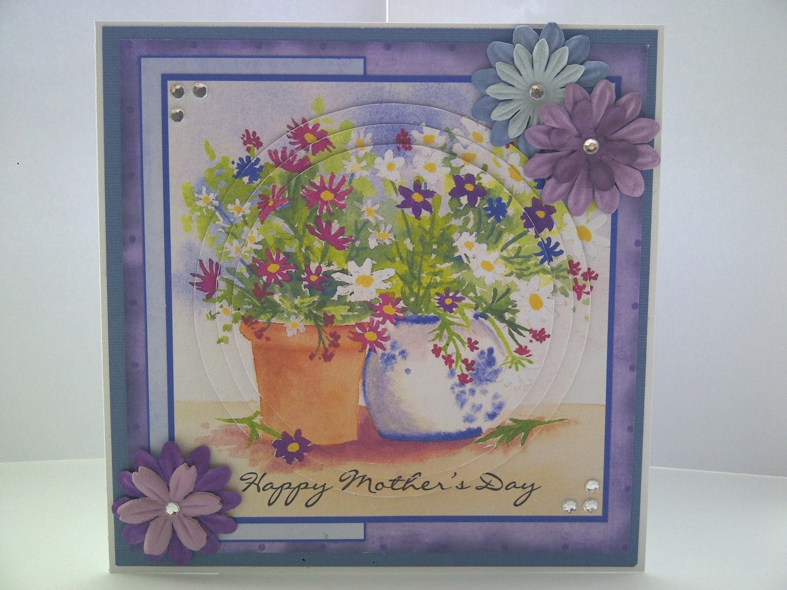 Happy Mothers Day Card Craft Cute Crafts To Make For Mother Day