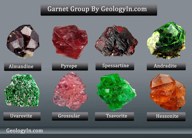 Garnet Group: The Colors and Varieties of Garnet