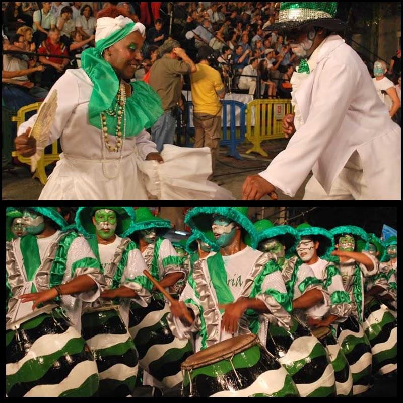 Carnaval. Desfile de Llamadas, Nigeria, 2010.