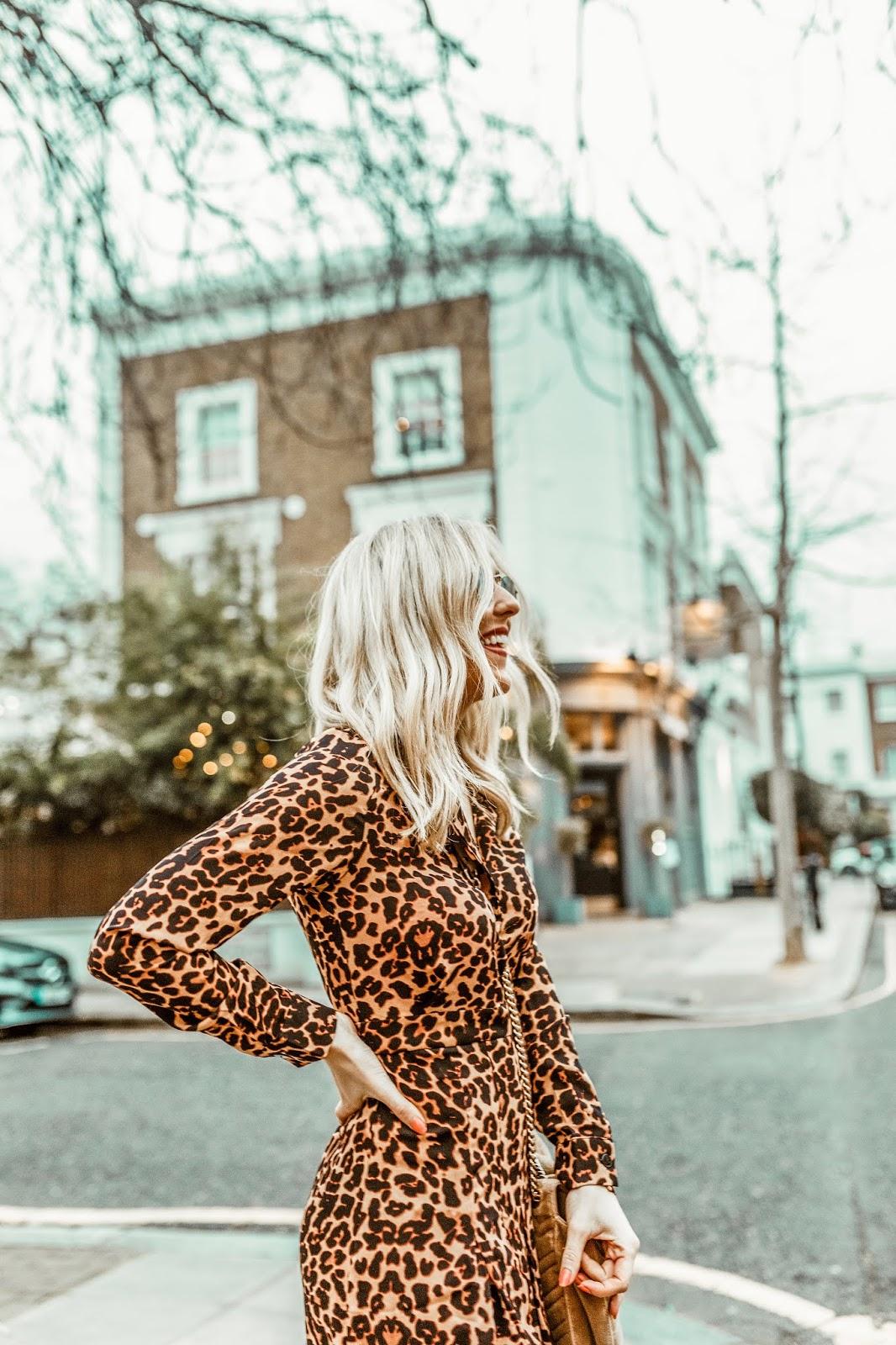 leopard print maxi dress instagrammer