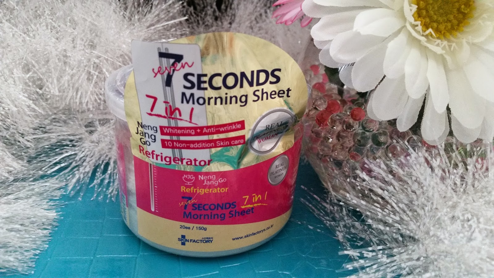 Review: Skin Factory 7 Seconds Morning Sheet