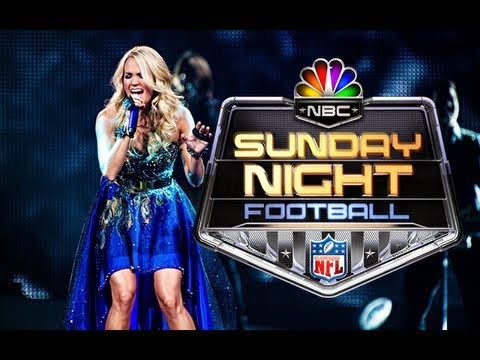 Carrie Underwood Sunday Night Football 2014 Intro - Making Of