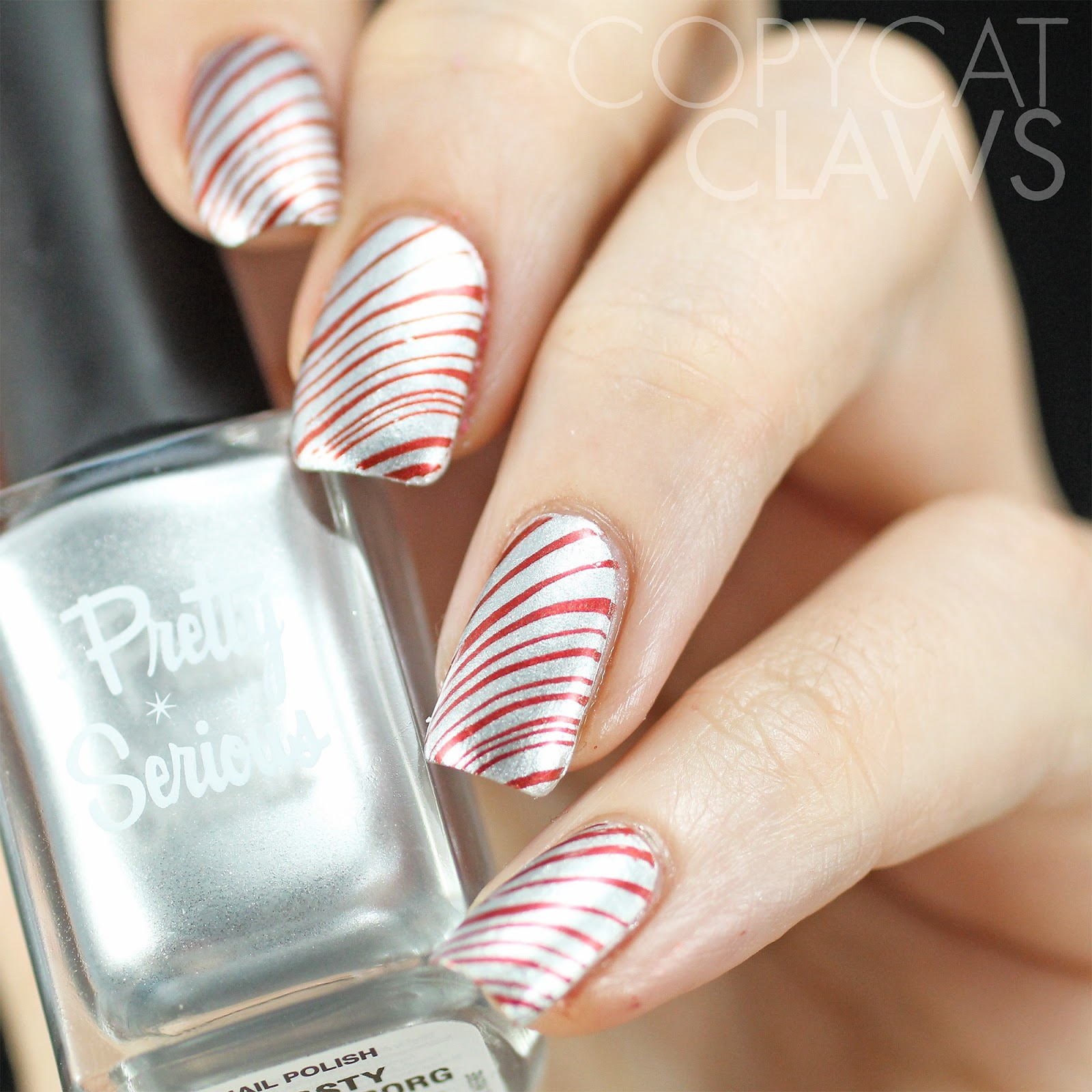 right now so i guess theyll be my christmas nails i finally edited a couple of photos for each and thought id share them on this christmas eve - Simple Christmas Nails