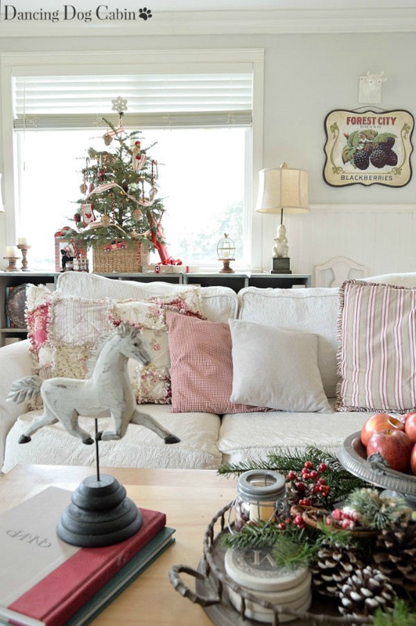 My Thrift Store Addiction Rustic and Romantic Creating Christmas link party