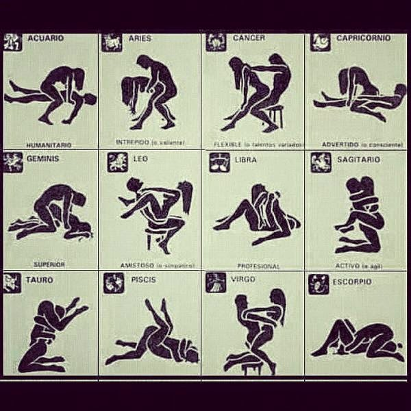 Astrological Sex Positions 79