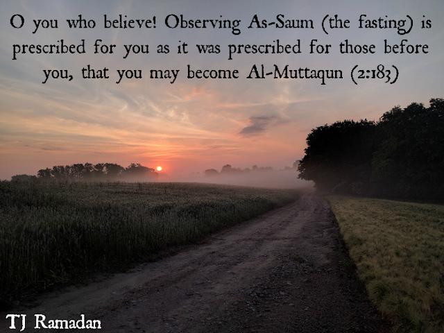 Fasting - TJ Ramadan