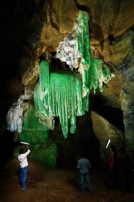 Kailash Caves Green Pillars