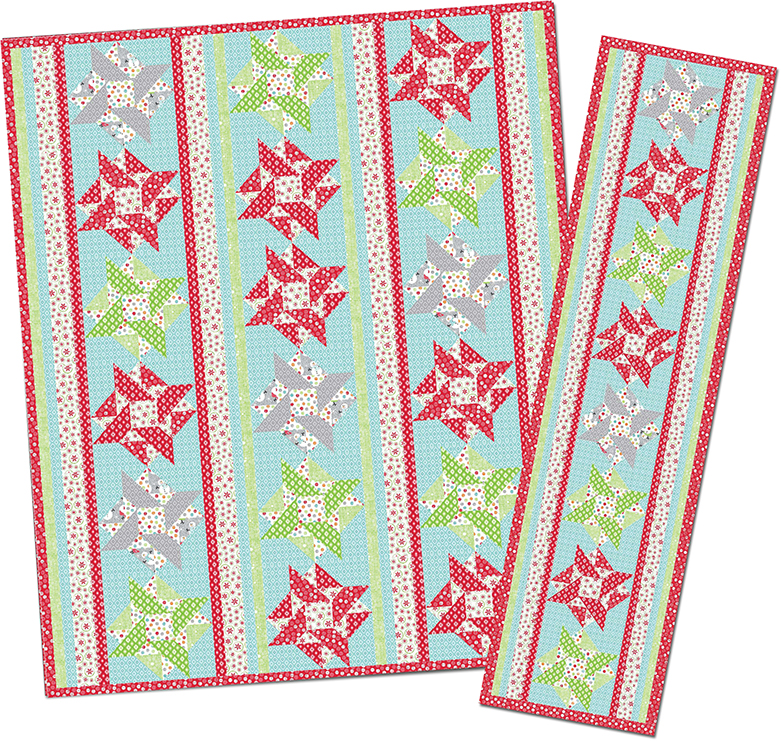 Sew In Love With Fabric Christmas In July Frosty Forest