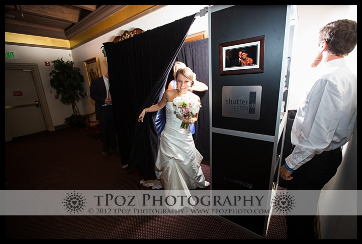 Shutterbooth photo booth 1840's Ballroom Wedding