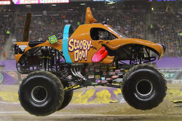 #MonsterJam's Scooby-Doo driven by Nichole Johnson