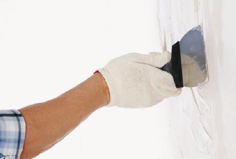 la preparazione della parete