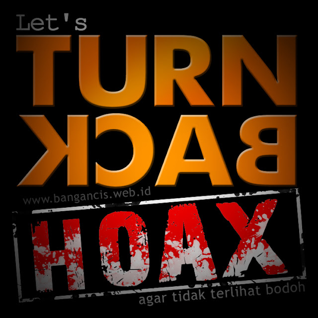 Turn back crime, turn back hoax, hoax