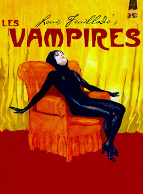 Poster for 1915 film Les Vampires