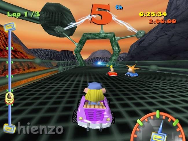 Toon Car PC Gameplay
