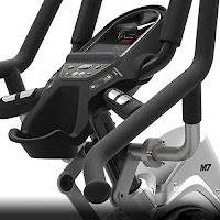 Backlit dual-mode enhanced LCD/LED monitor on Bowflex Max Trainer M7