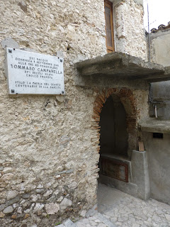 Campanella's house in Stilo in Calabria
