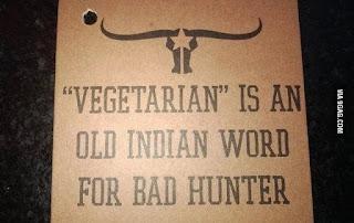Vegans probably have different version of evolution