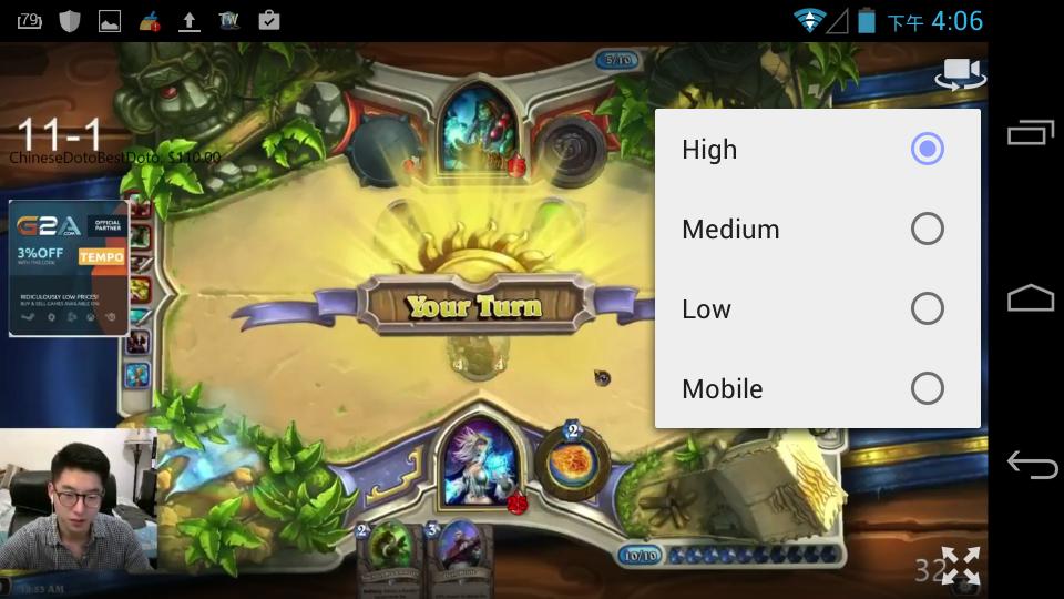 手把手玩Linux: 【android】如果用新版 Twitch App 播放直播是黑畫面可以試試 Vortex