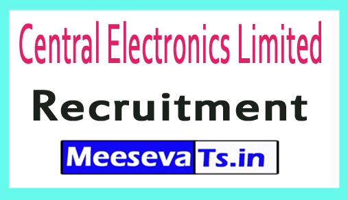 Central Electronics Limited CEL Recruitment