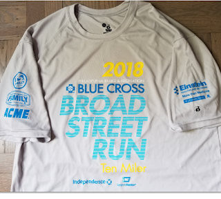 BroadStreetRun - race shirt