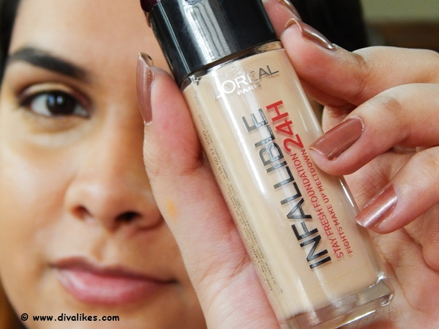 L'Oreal 24H Infallible Liquid Foundation
