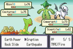 pokemon double emerald screenshot 3