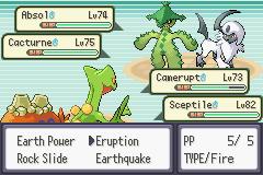 pokemon double emerald screenshot 3