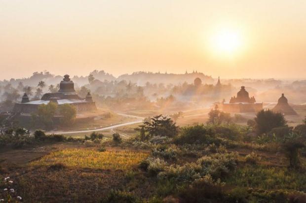 U Saw Birmania As Ruínas Esqueci...