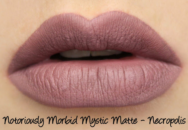 Notoriously Morbid Mystic Matte - Necropolis Swatches & Review