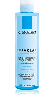 LA ROCHE-POSAY ADDS MICRO EXFOLIATING ASTRINGENT TONER TO ITS EFFACLAR RANGE
