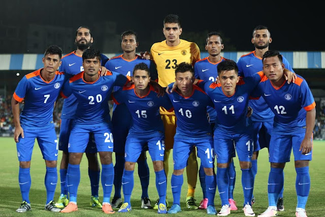 India climb 31 places to be ranked 101 in the FIFA Rankings