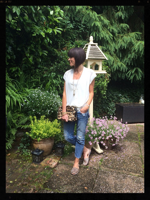 Neutrals, My Midlife Fashion, Leopard Print, Animal Print, Tusk Necklace, Distressed Jeans, Lace, Palmaria de Menorca, Zara, Mango, Warehouse