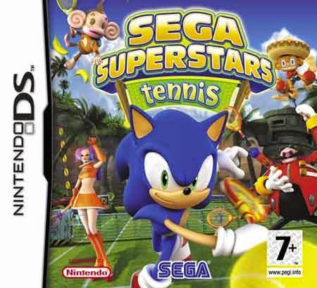 SEGA Superstars Tennis NDS free download full version