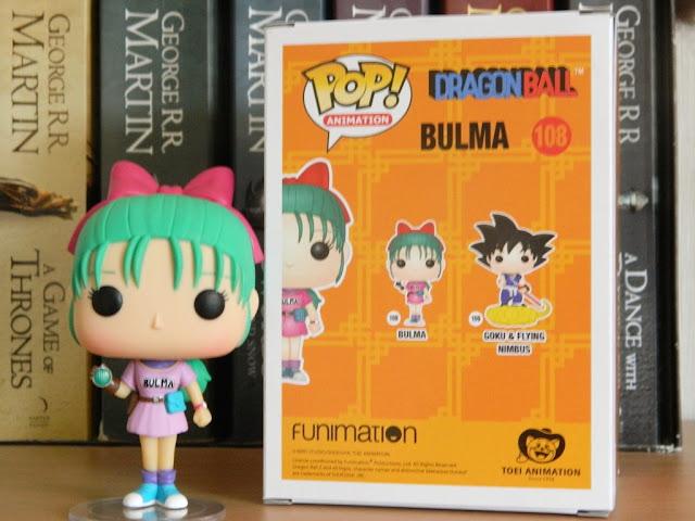 Dragon Ball Z Funko Pop Bulma