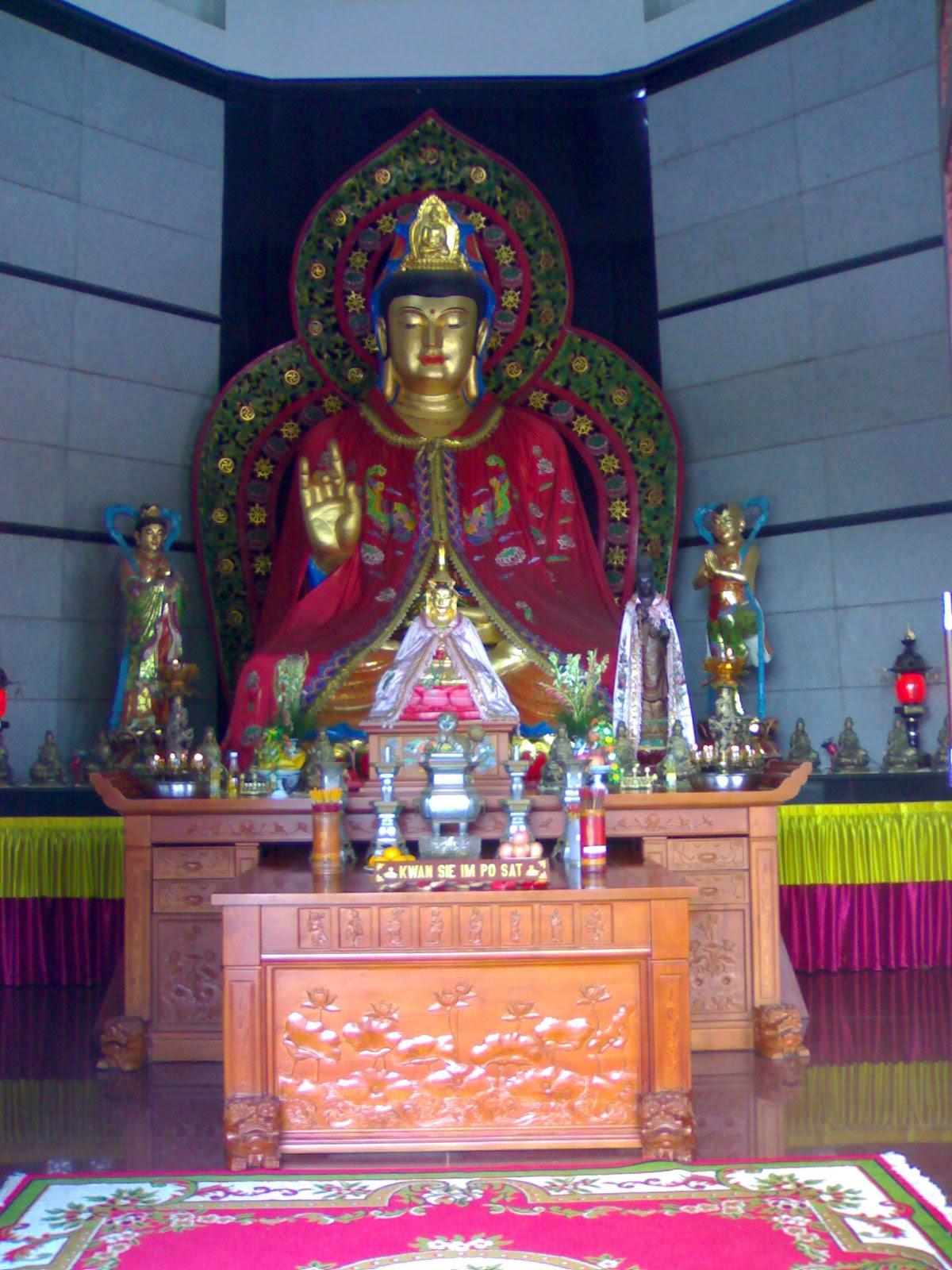 Vihara Buddhagaya Watugong - wisata semarang