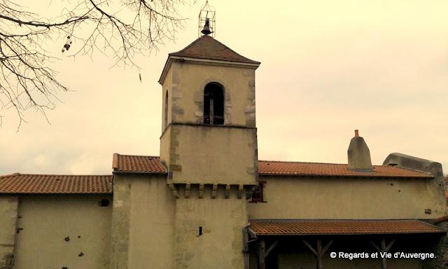 Eglise  saint Jean-Baptiste de Mardogne, Gergovie Puy-de-Dôme