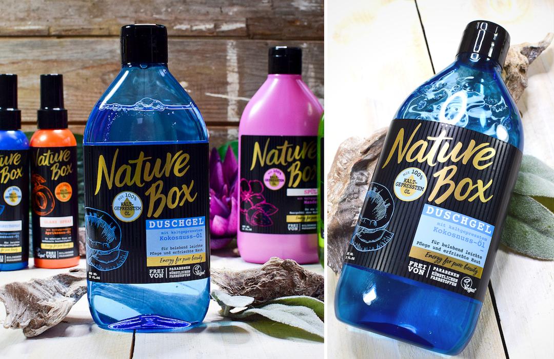 Test der Naturebox Produkte, Nature Box aus der Drogerie, vegan