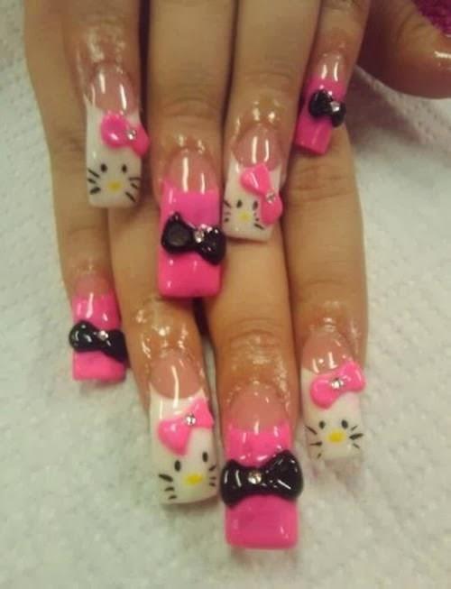 Hello Kitty Nail Designs | Nail Designs