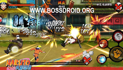 Game Naruto Mobile Fighter (火影忍者) Mod APK