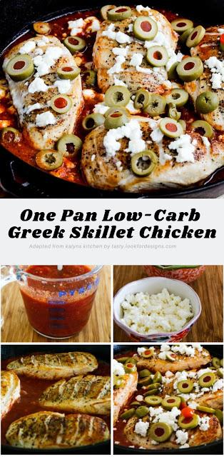 low carb greek recipes