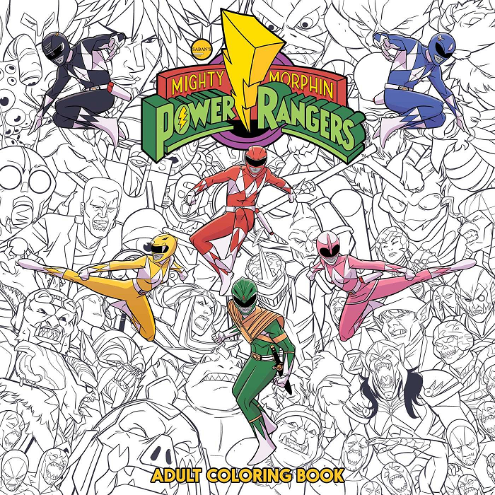 boom studios anuncia três novos livros de power rangers mega