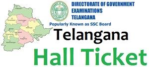 bsetelangana.org TS SSC Hall Ticket 2017