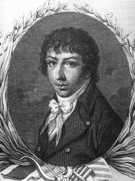 Portrait du compositeur Stephen Storace (1762-1796) f'rère de Nancy Storace