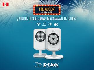 [Sorteo] Participa y gana una de las 30 cámaras IP - 30 años de D-Link