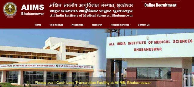 Senior Residents Recruitment AIIMS Bhubaneswar | Sarkari Naukri